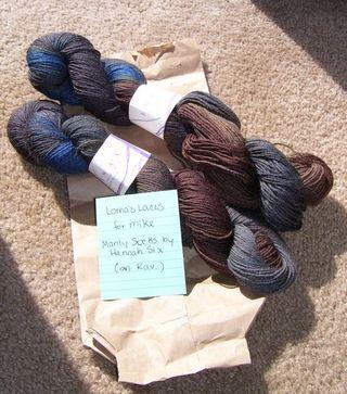 Manly socks yarn