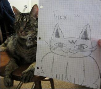 tiger&portrait